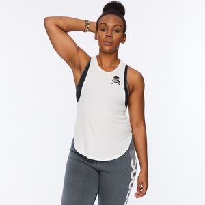 NWT SoulCycle Lazy Day Tank w/ Skull- Size M/L